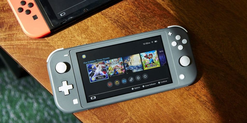 guidelines on how to play Nintendo Switch Lite